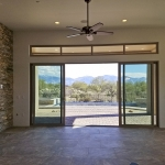 Sliding glass door system